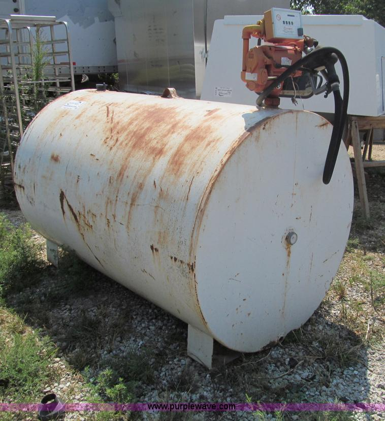 500 Gallon Fuel Tank >> 500 Gallon Steel Diesel Fuel Tank Item B6380 Sold Thurs