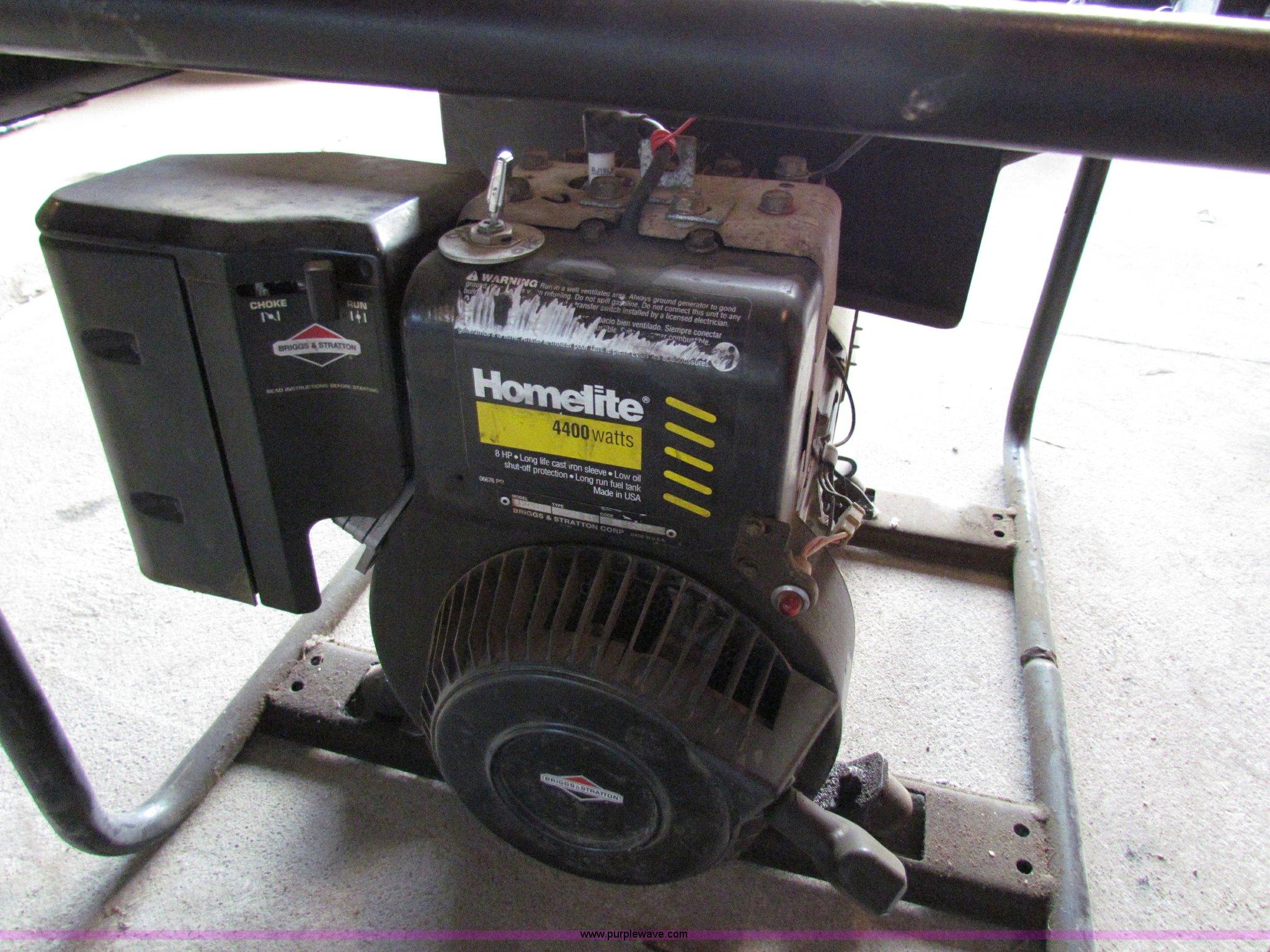 Prime 1999 Homelite Lr4400 4000 Watt Generator Item N9206 Sold Interior Design Ideas Gresisoteloinfo