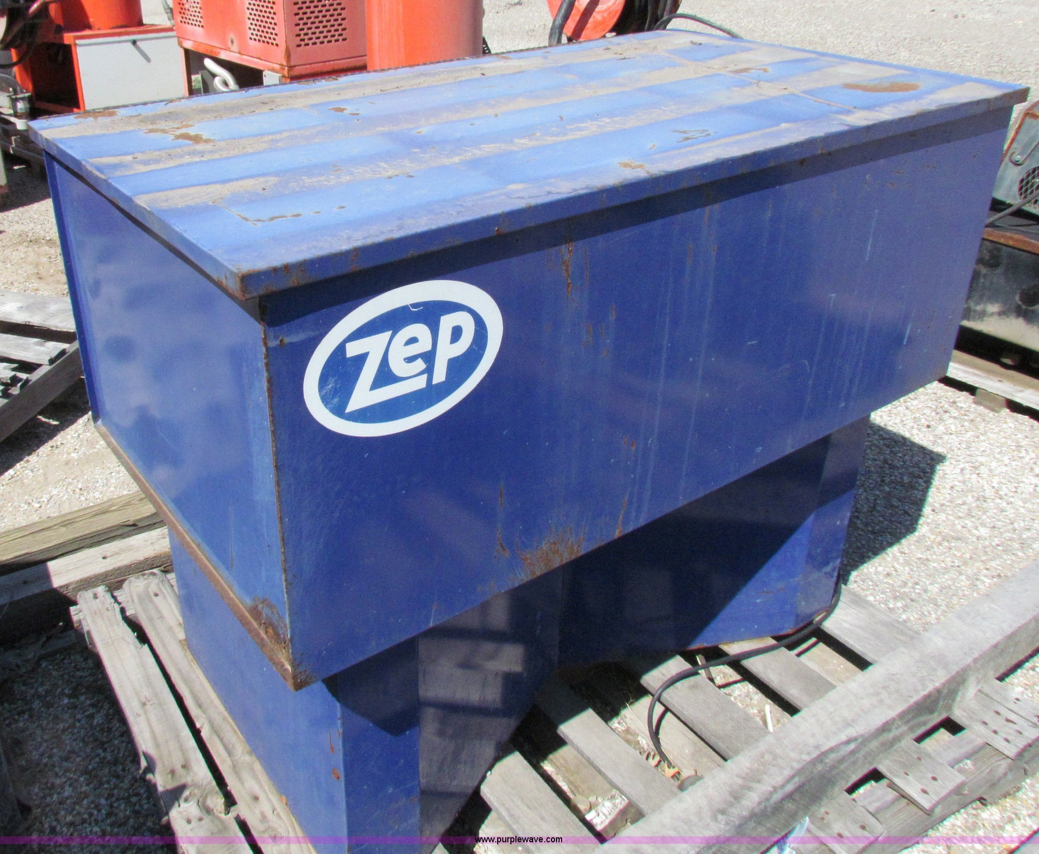 Zep 906201 parts washer | Item N9238 | SOLD! Thursday Octobe