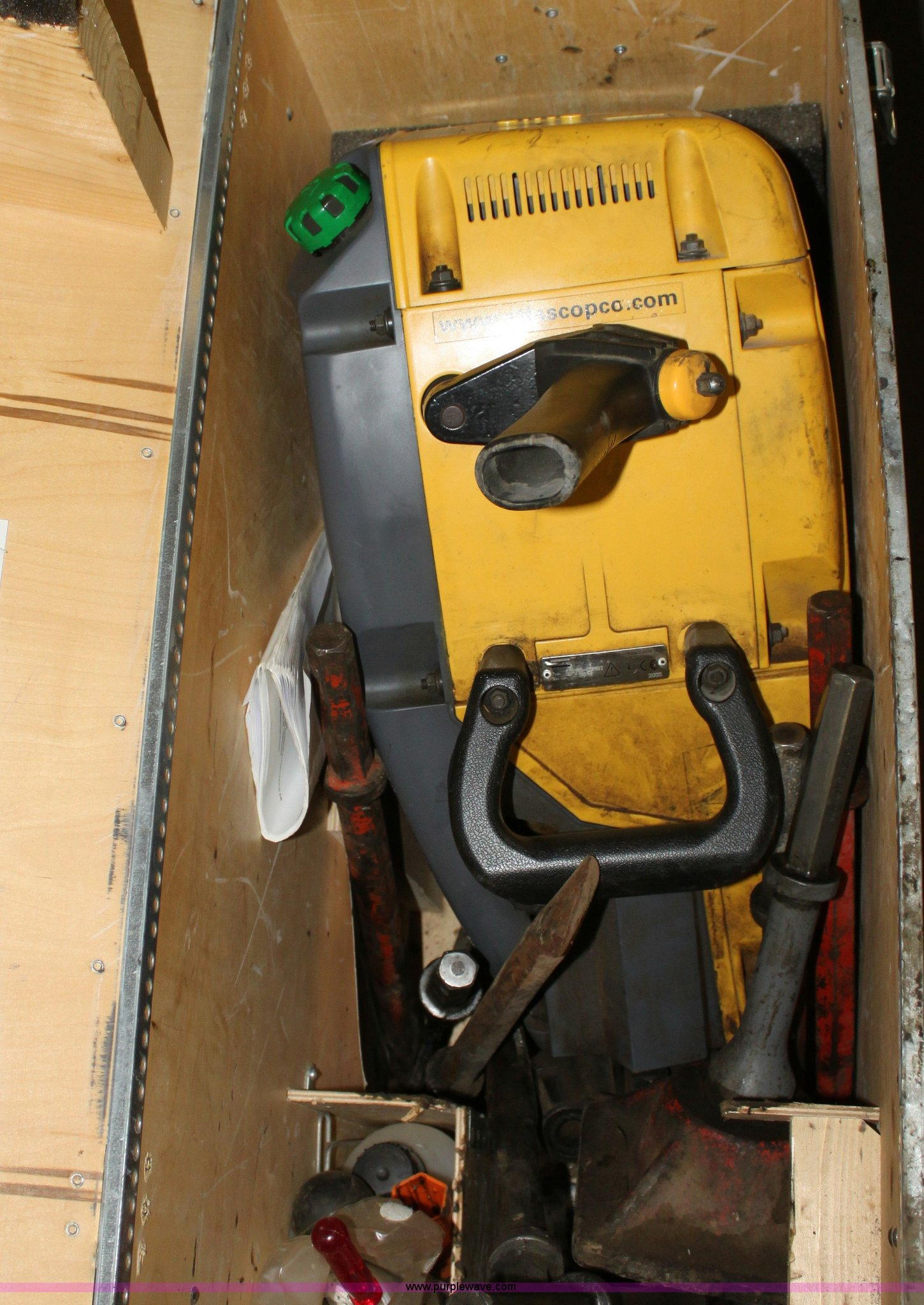 R9856 image for item R9856 Atlas Copco Cobra Cambi drill/breaker hammer