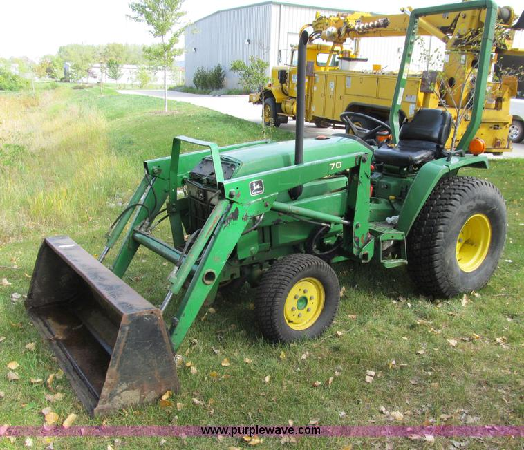 John Deere 790 Mfwd Tractor Item A8476 Sold Wednesday