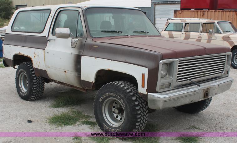 1979 Chevrolet K5 Blazer SUV | Item C2848 | SOLD! Wednesday