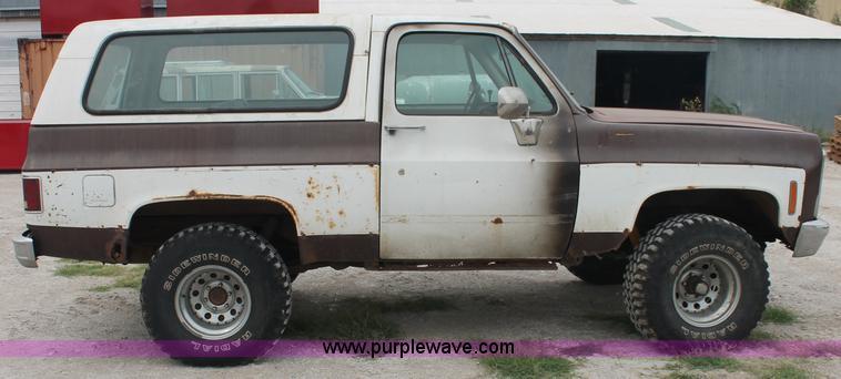 1979 Chevrolet K5 Blazer SUV   Item C2848   SOLD! Wednesday