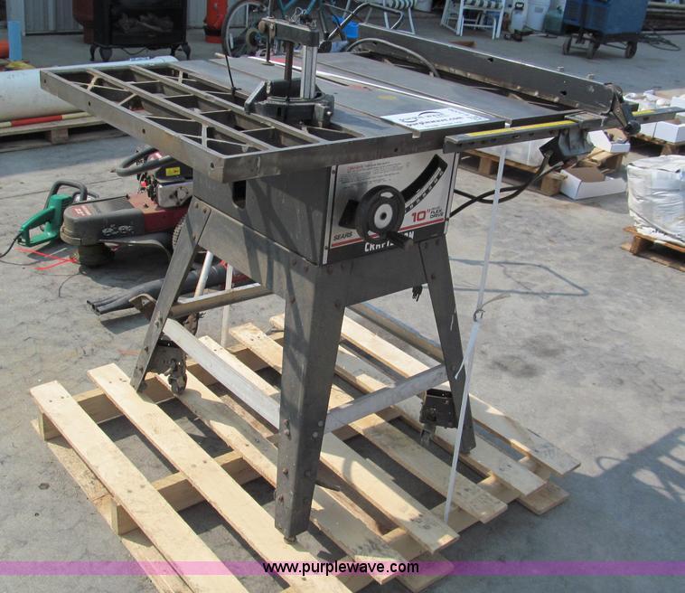 Craftsman Model 113 Table Saw Brokeasshome Com