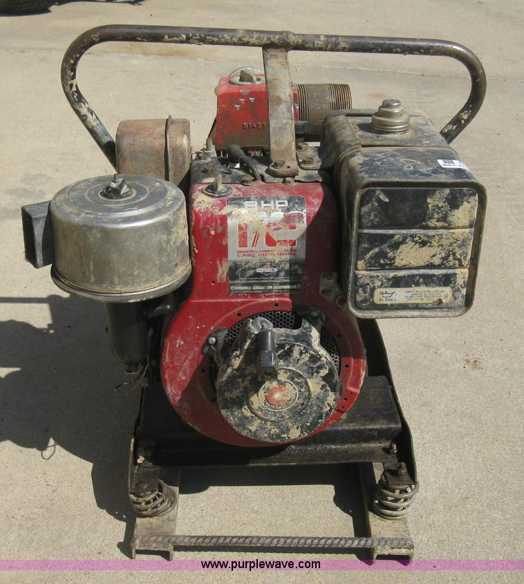 Item 4 Tsurumi Ept3 80ha 3 Inch 8 Hp Driven Trash Pump With Low Oil Sensor