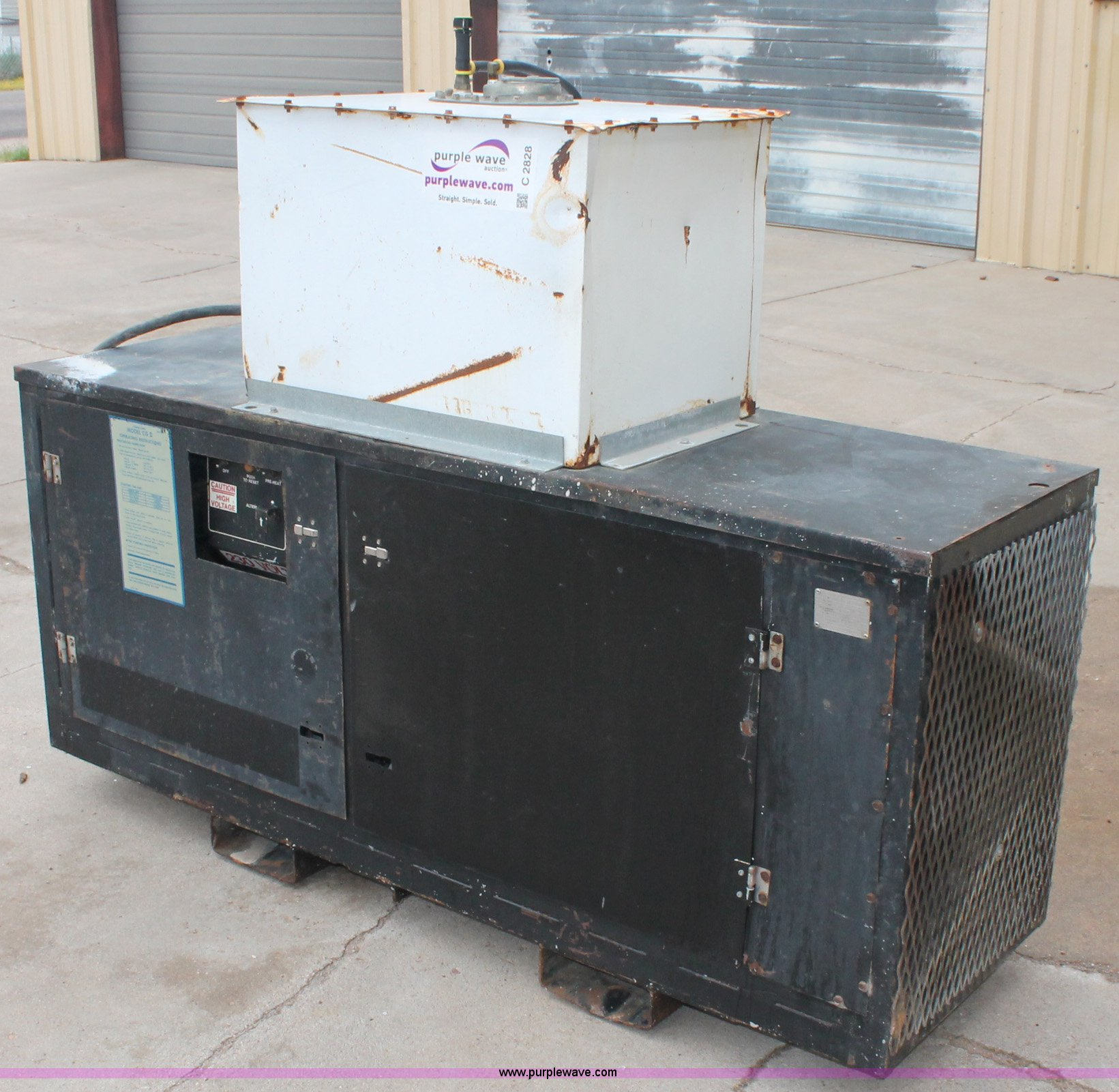 Thermo King CGII GenSet generator Item C2828