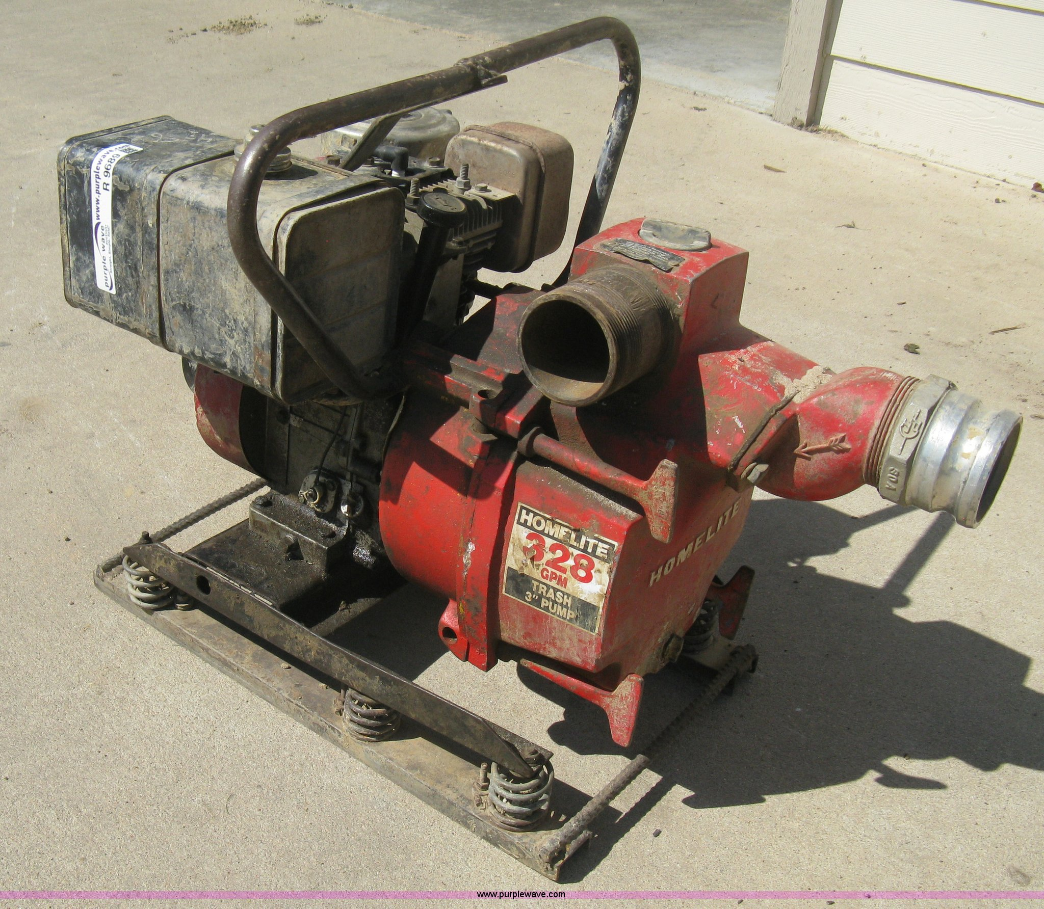 Lot 166 Of 216 Home Lite 610 Trash Pump
