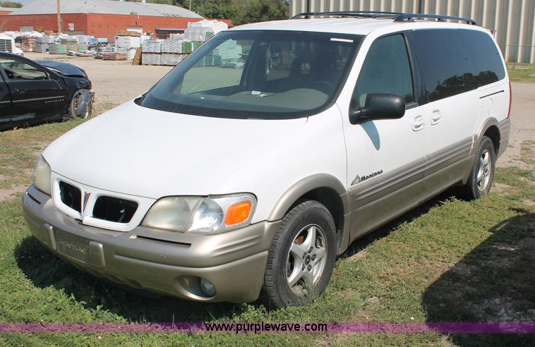 1999 pontiac montana mini van in wichita ks item o9339 sold purple wave 1999 pontiac montana mini van in