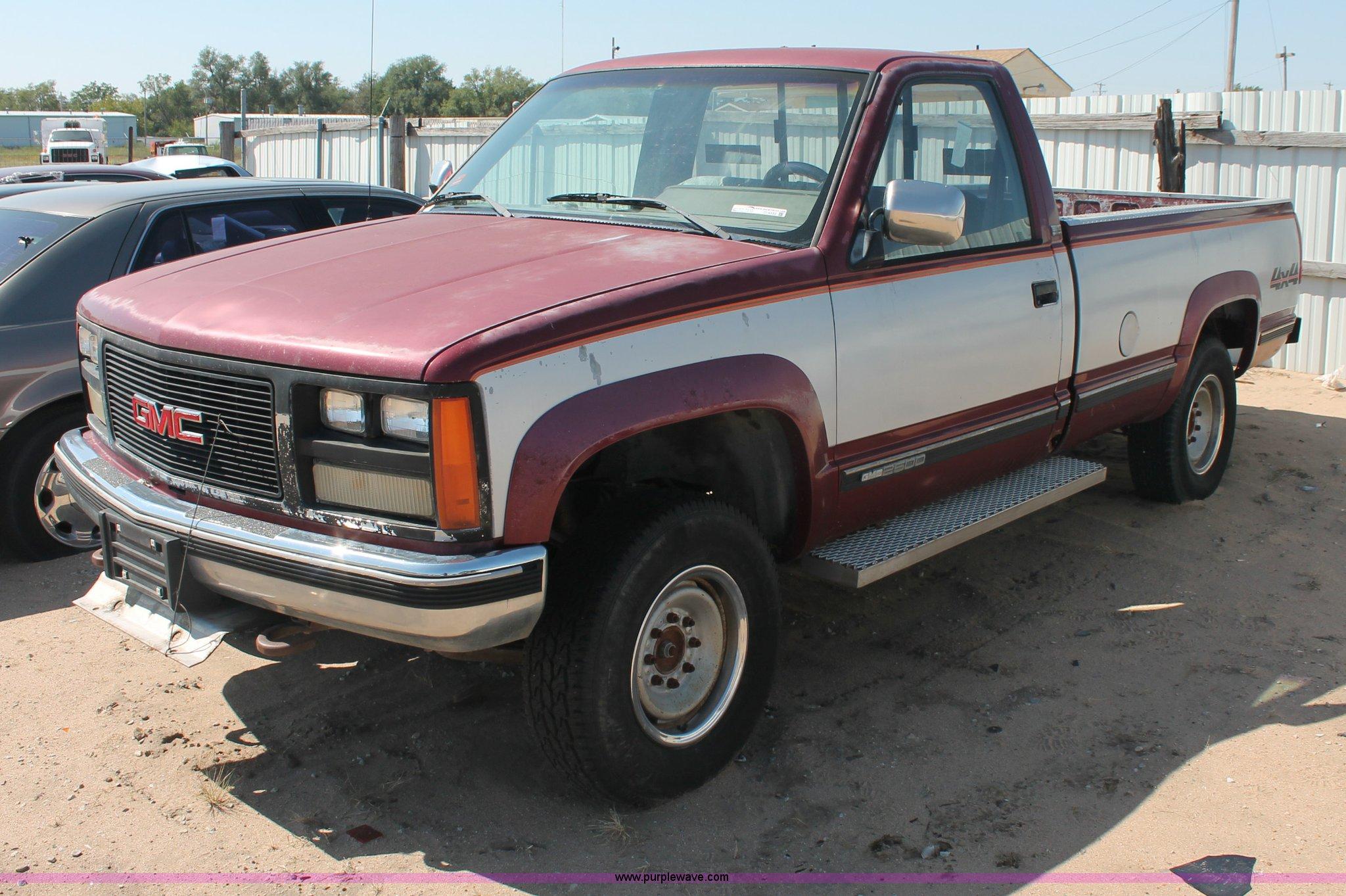 1989 gmc sierra pickup