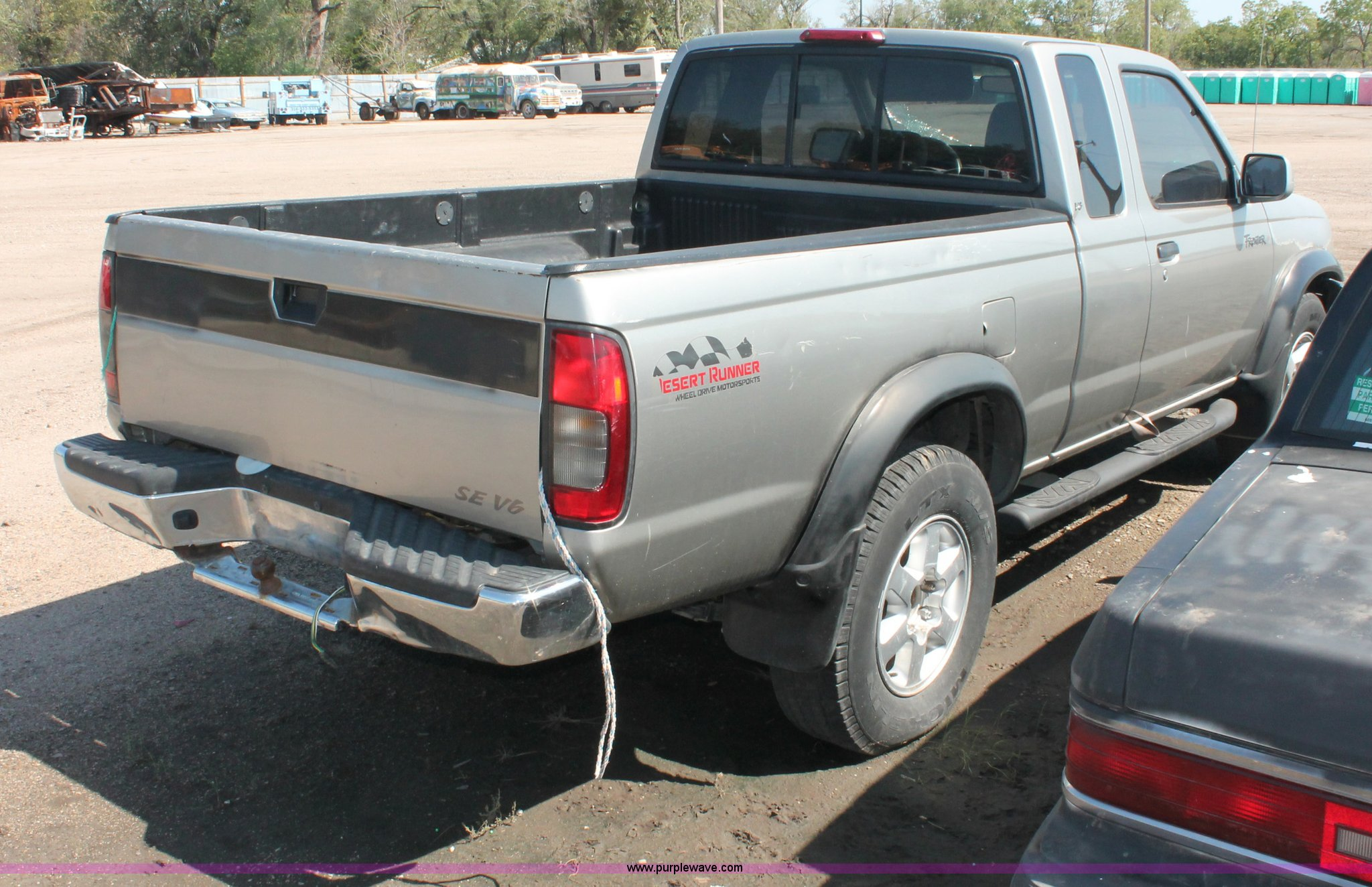 2000 Nissan Frontier Se Desert Runner King Cab Pickup Truck Trailer Wiring Full Size In New Window