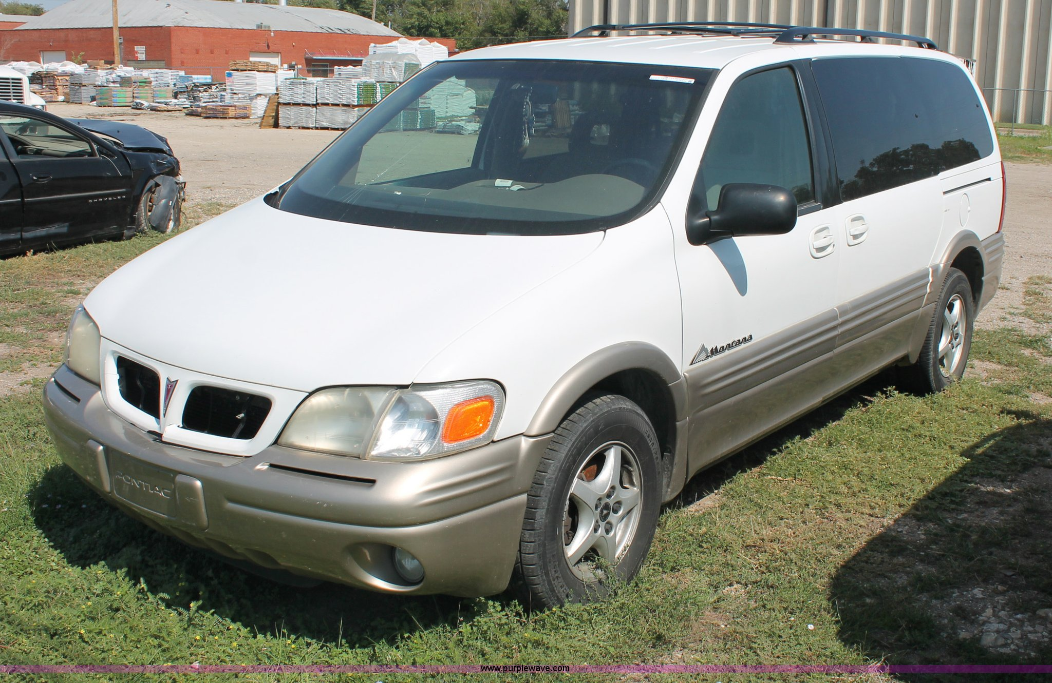 1999 pontiac montana mini van in wichita ks item o9339 sold purple wave 1999 pontiac montana mini van in