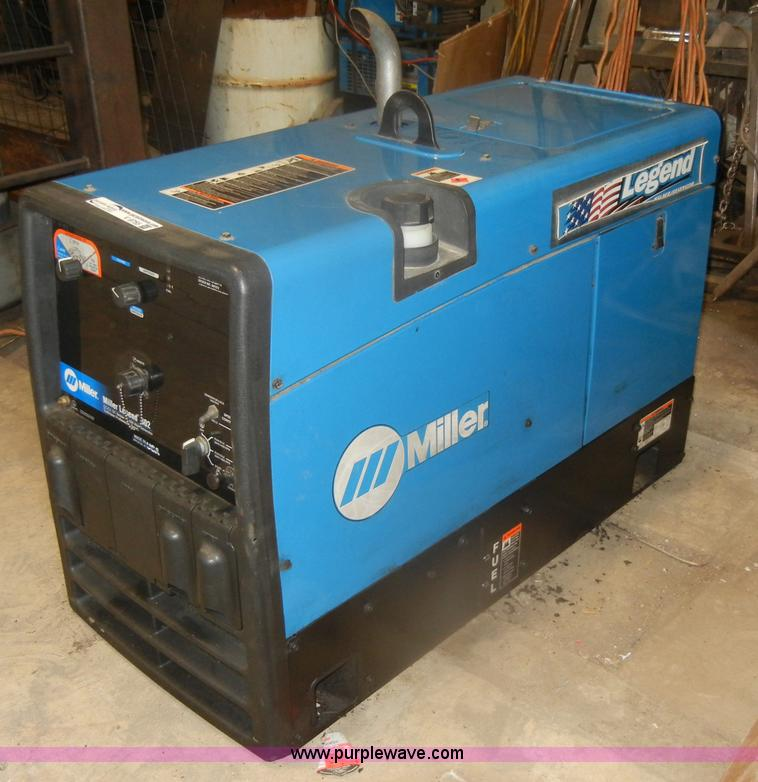 Miller Welders For Sale >> Miller Legend 302 Welder Generator Item V9755 Sold Thur