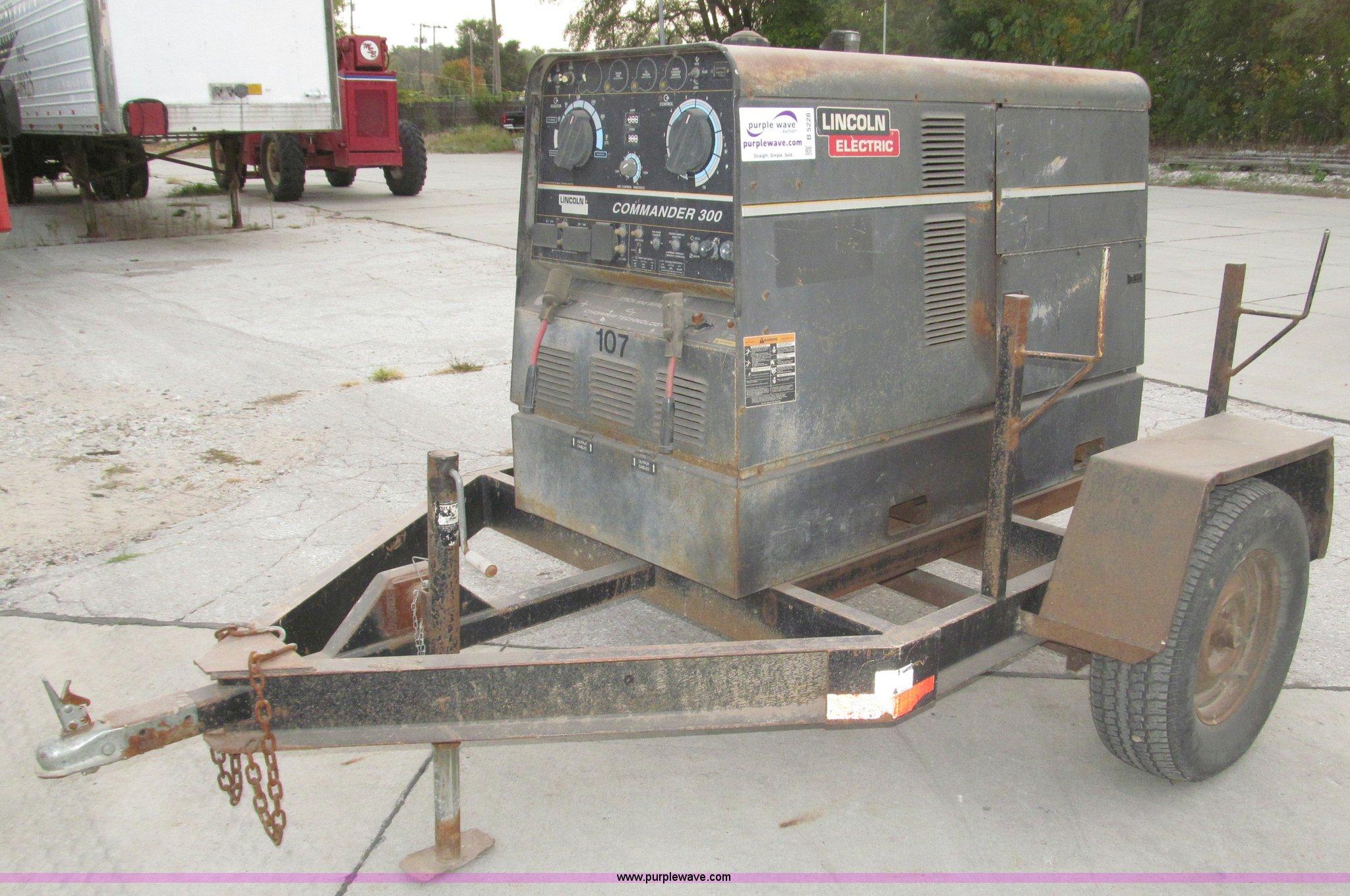 lincoln electric commander 300 portable welder generator i rh purplewave com