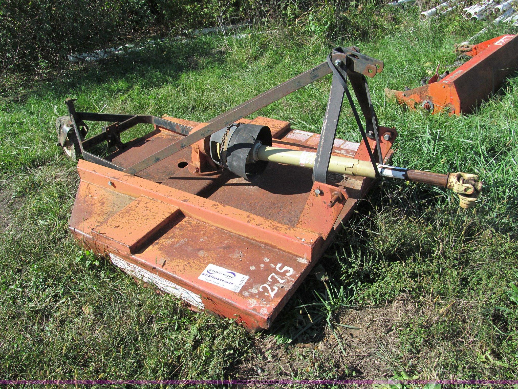 Brush Hog 275 5 Rotary Mower Item E5572 Sold Wednesday
