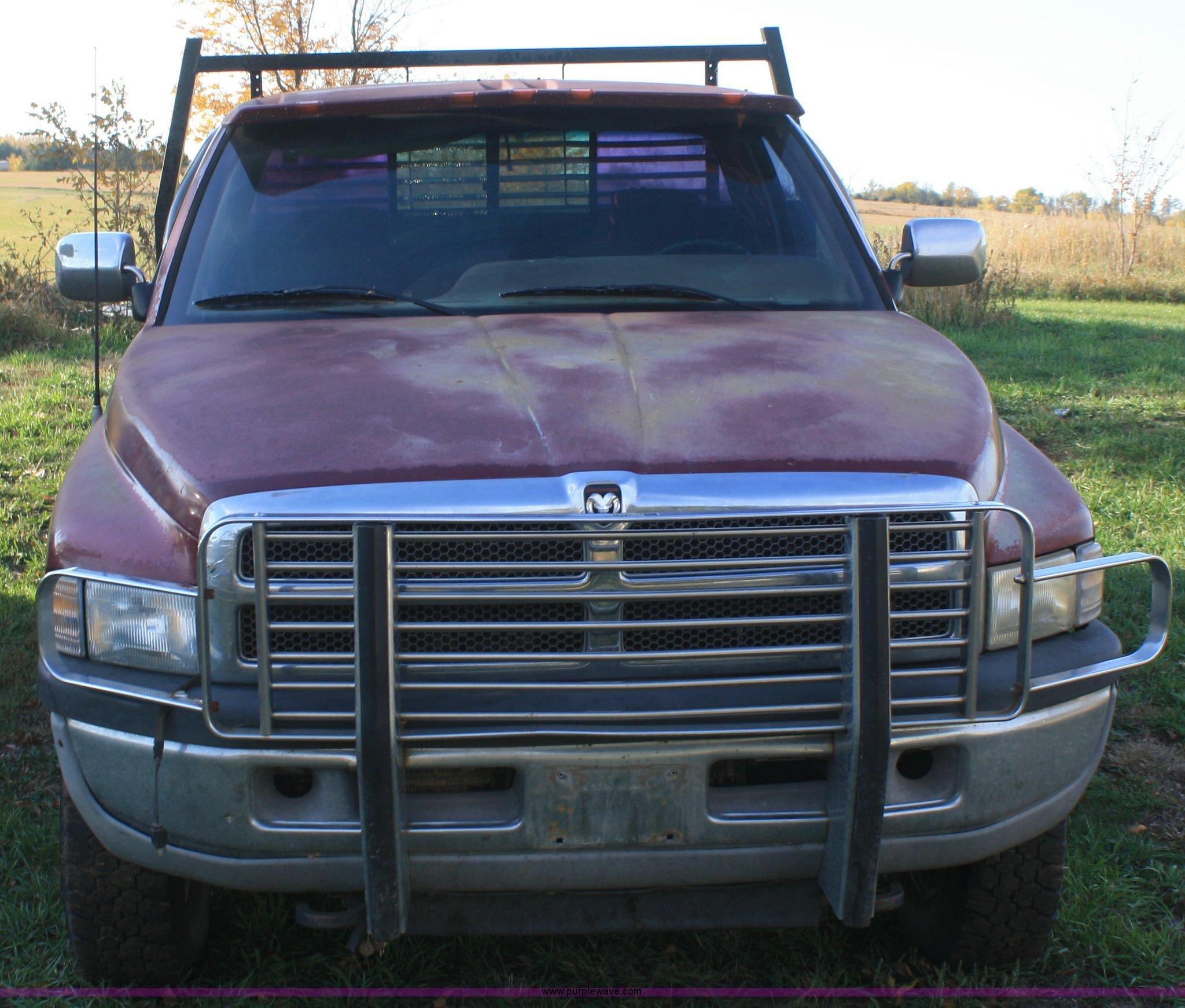 1994 Dodge Ram 2500 Flatbed Pickup Truck Item F2697 Sold Full Size In New Window
