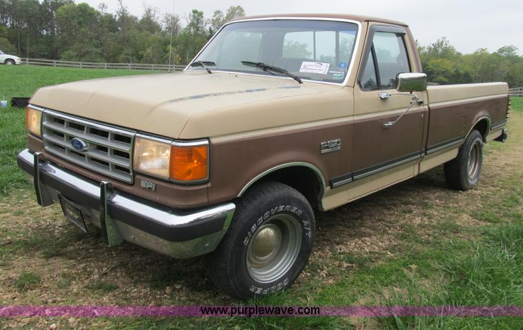 1987 Ford F150 Xlt Lariat Pickup Truck Item B2901 Sold