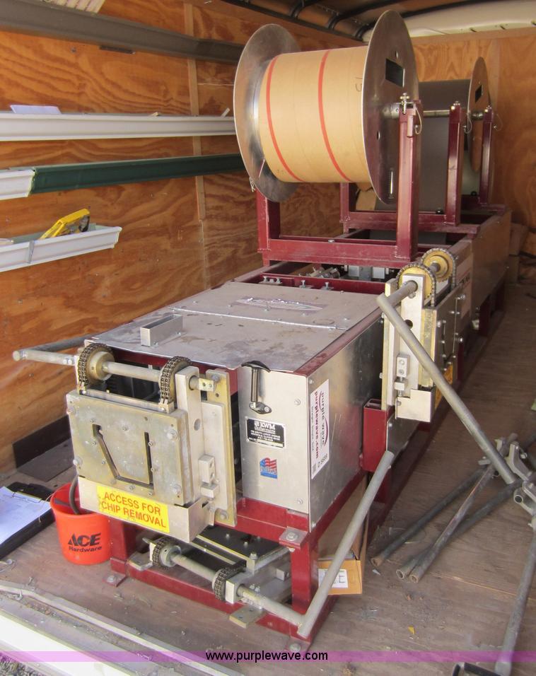 Kwm Iron Man Seamless Gutter Machine In Frontenac Ks Item D5689 Sold Purple Wave