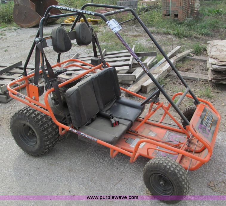 Conquest 495 go-cart | Item E5549 | SOLD! October 31 Midwest...