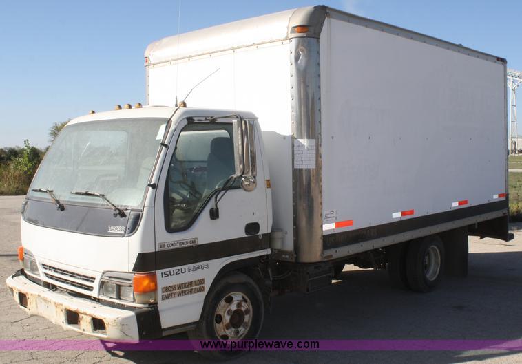 F2623 Image For Item F2623 1996 Isuzu NPR Box Truck