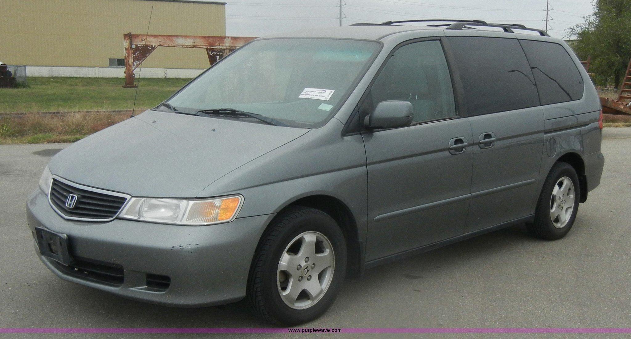 2000 honda odyssey ex mini van in manhattan ks item d4809 sold purple wave 2000 honda odyssey ex mini van in