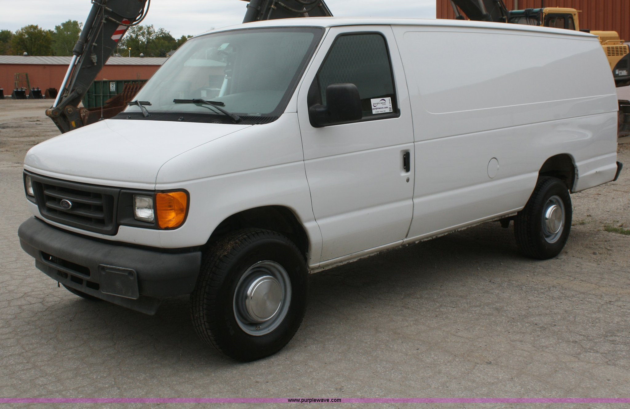 2004 ford econoline e350 extended cargo van item f2634 s. Black Bedroom Furniture Sets. Home Design Ideas