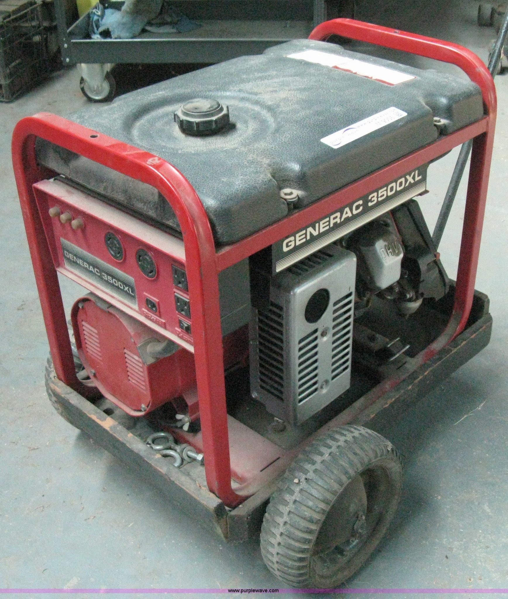 Generac 3500XL generator | Item M9005 | SOLD! October 31 Mid