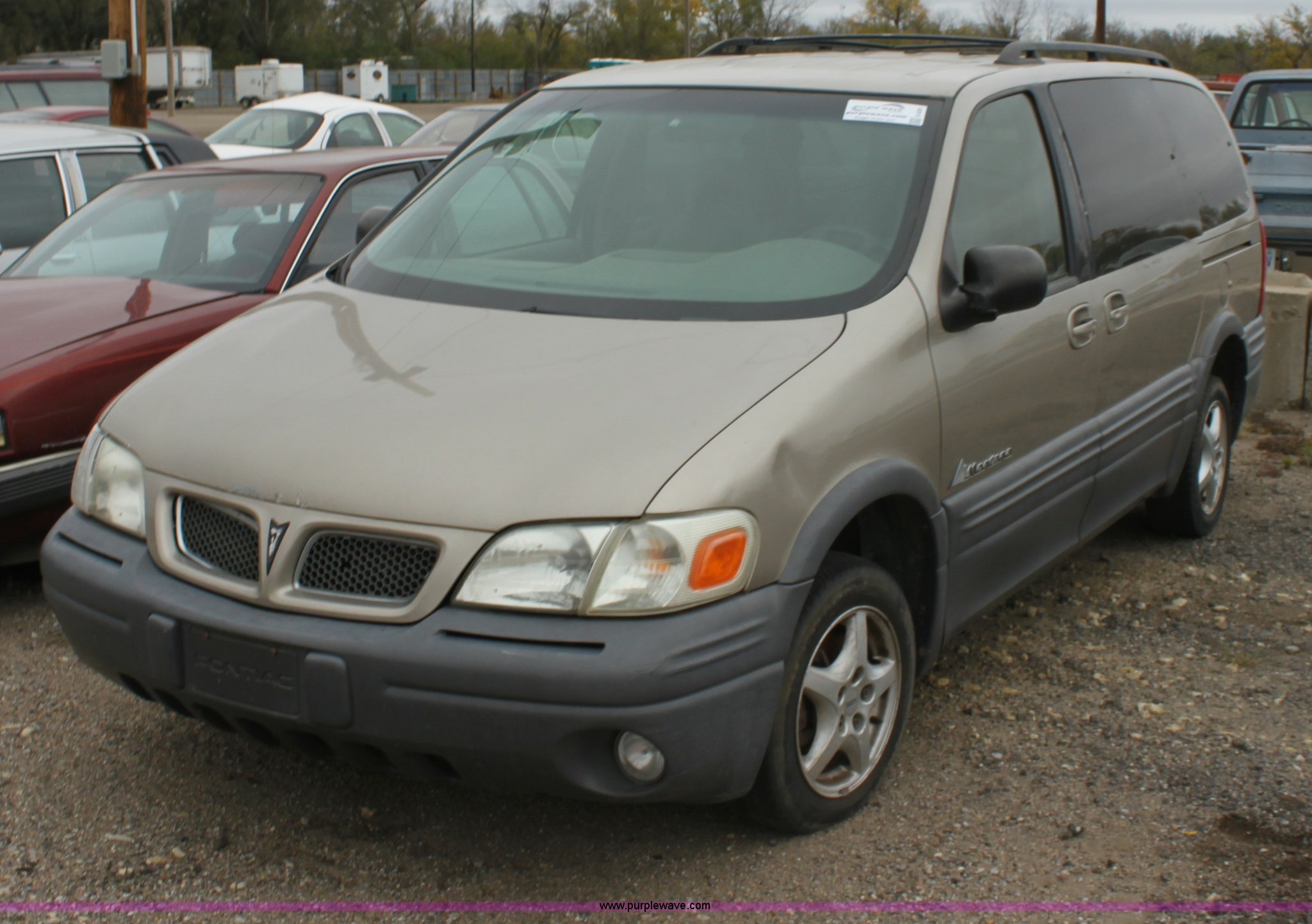 1999 pontiac montana minivan in wichita ks item e4281 sold purple wave 1999 pontiac montana minivan in wichita