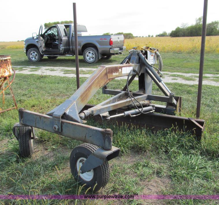 Melroe Bobcat skid steer grader attachment | Item E3526 | SO
