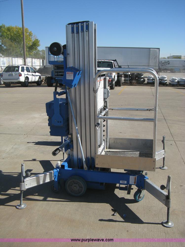 Genie Awp 24 Electric Man Lift Item M9100 Sold