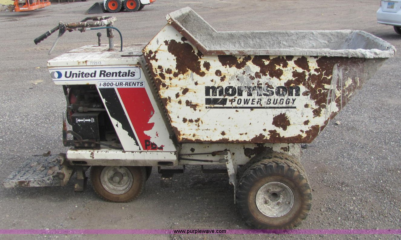 2005 Terex OMPB21A ride on concrete dump buggy   Item C2937