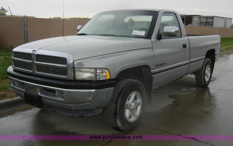 1996 Dodge Ram Laramie 1500 Slt Pickup Truck Item D4795