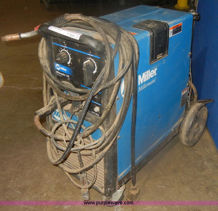 Miller Mig Welder For Sale >> Miller Millermatic 210 Welder Item F9245 Sold November