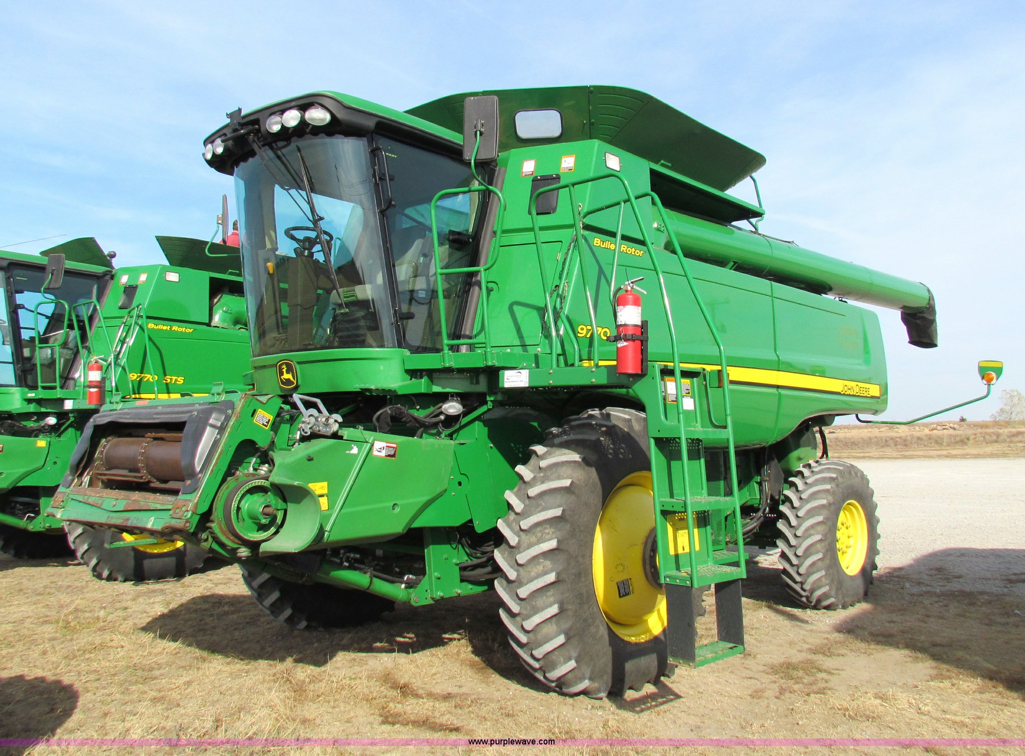 E8166 image for item E8166 2009 John Deere 9770 ...