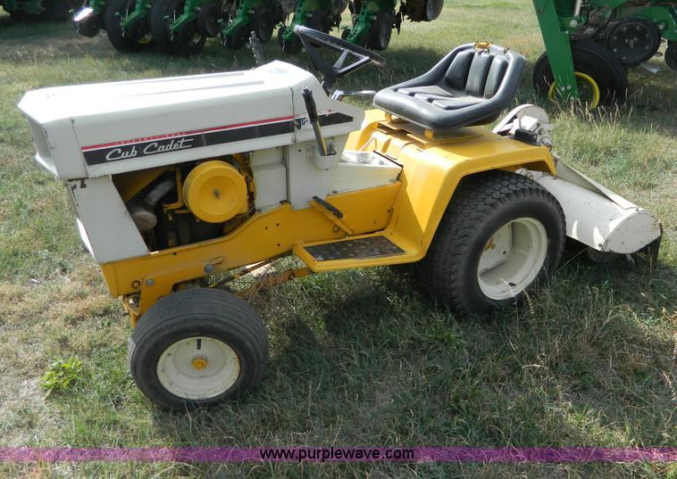 B3963 Image For Item B3963 Cub Cadet 129 Tiller Tractor