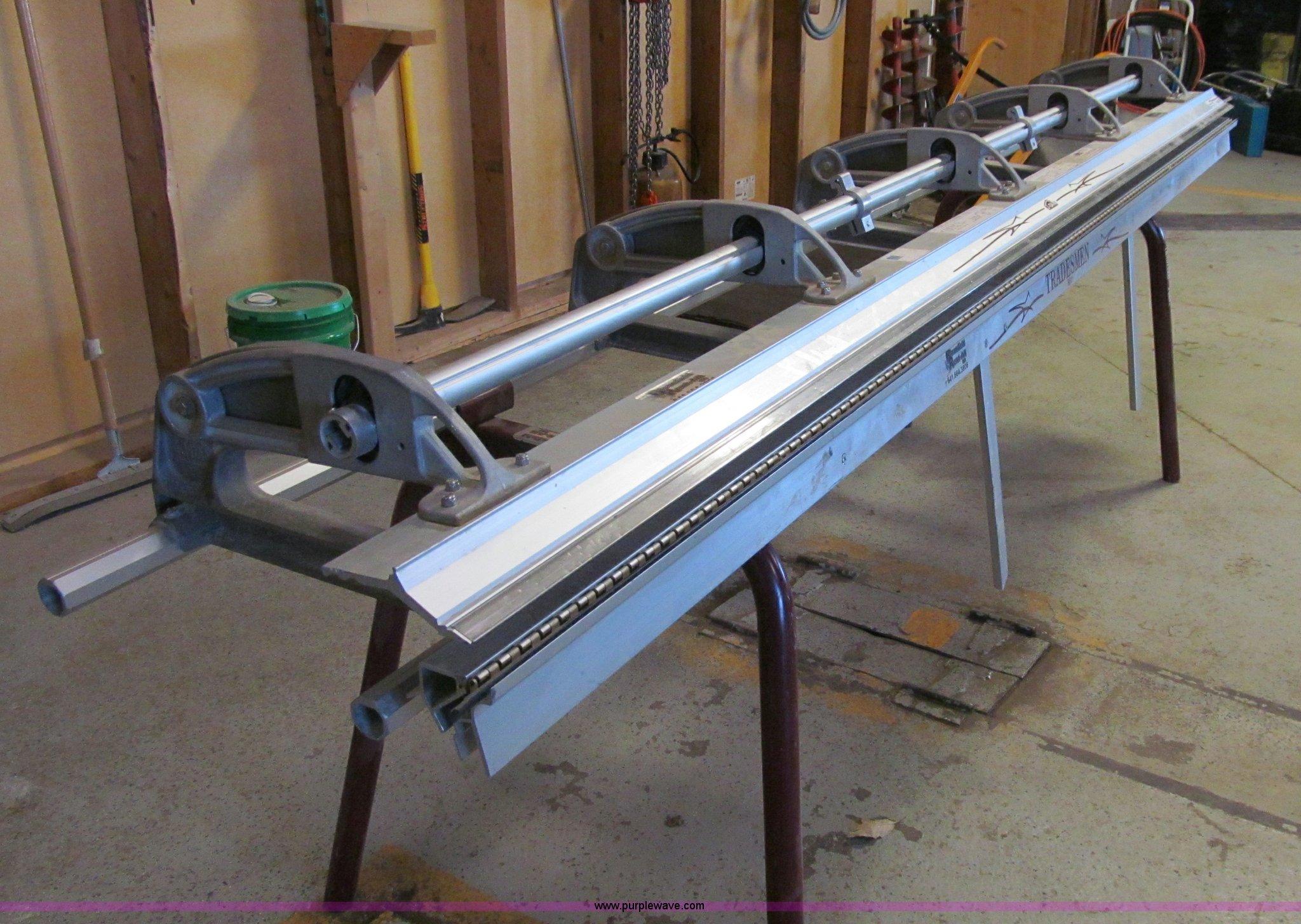 J Dan Inc Tradesman Portable Brake In Bloomfield Ia Item R9034 Sold Purple Wave