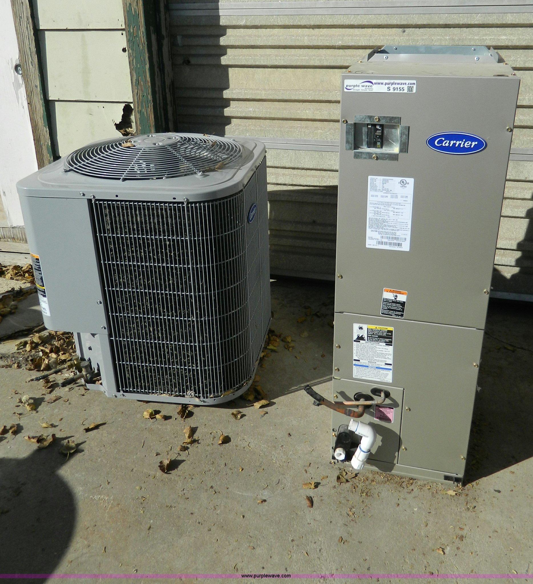 Carrier heat pump unit and carrier ac unit item s9155 for Window unit heat pump
