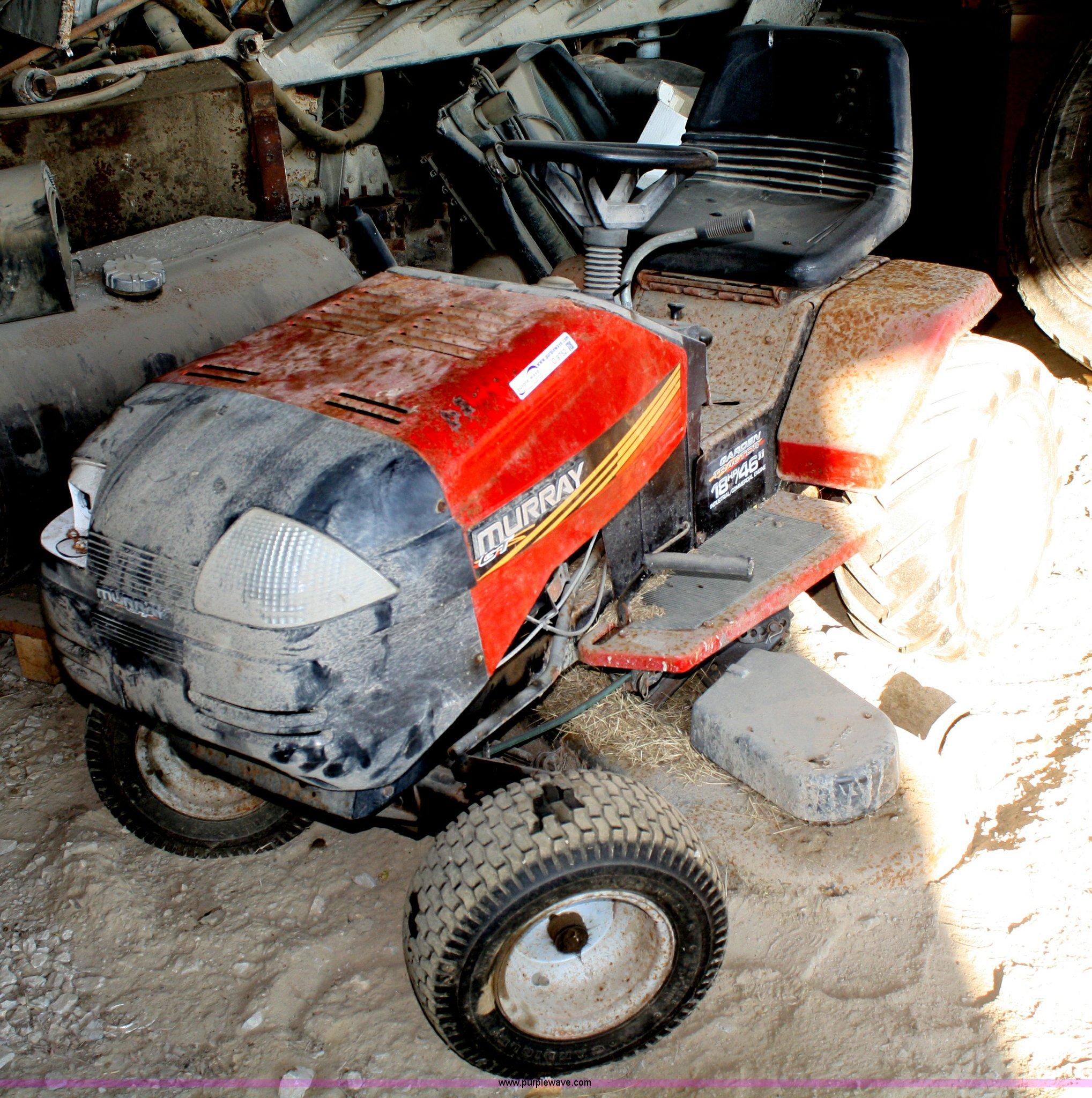 Murray Garden Tractor : Murray garden tractor item o sold december