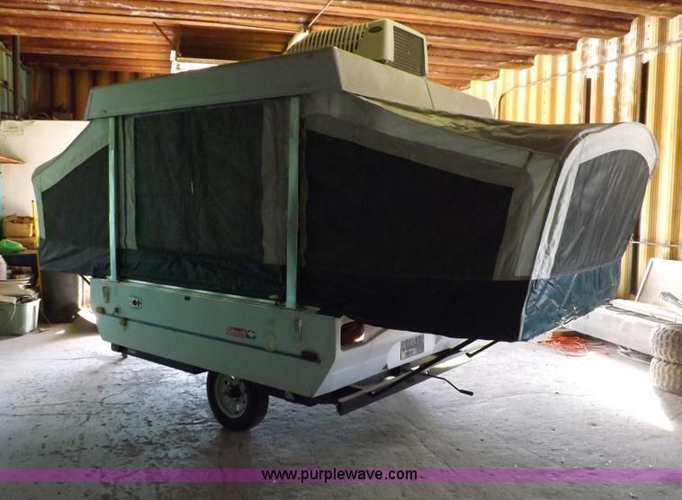 1998 Coleman Taos Pop Up Camper Floor Plan
