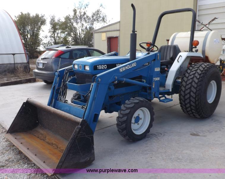 Ford Tractor Sayings : Ford new holland sss wd tractor item f sold