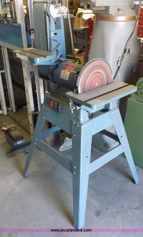 Enco Belt Sander Grinder No Reserve Auction On Wednesday