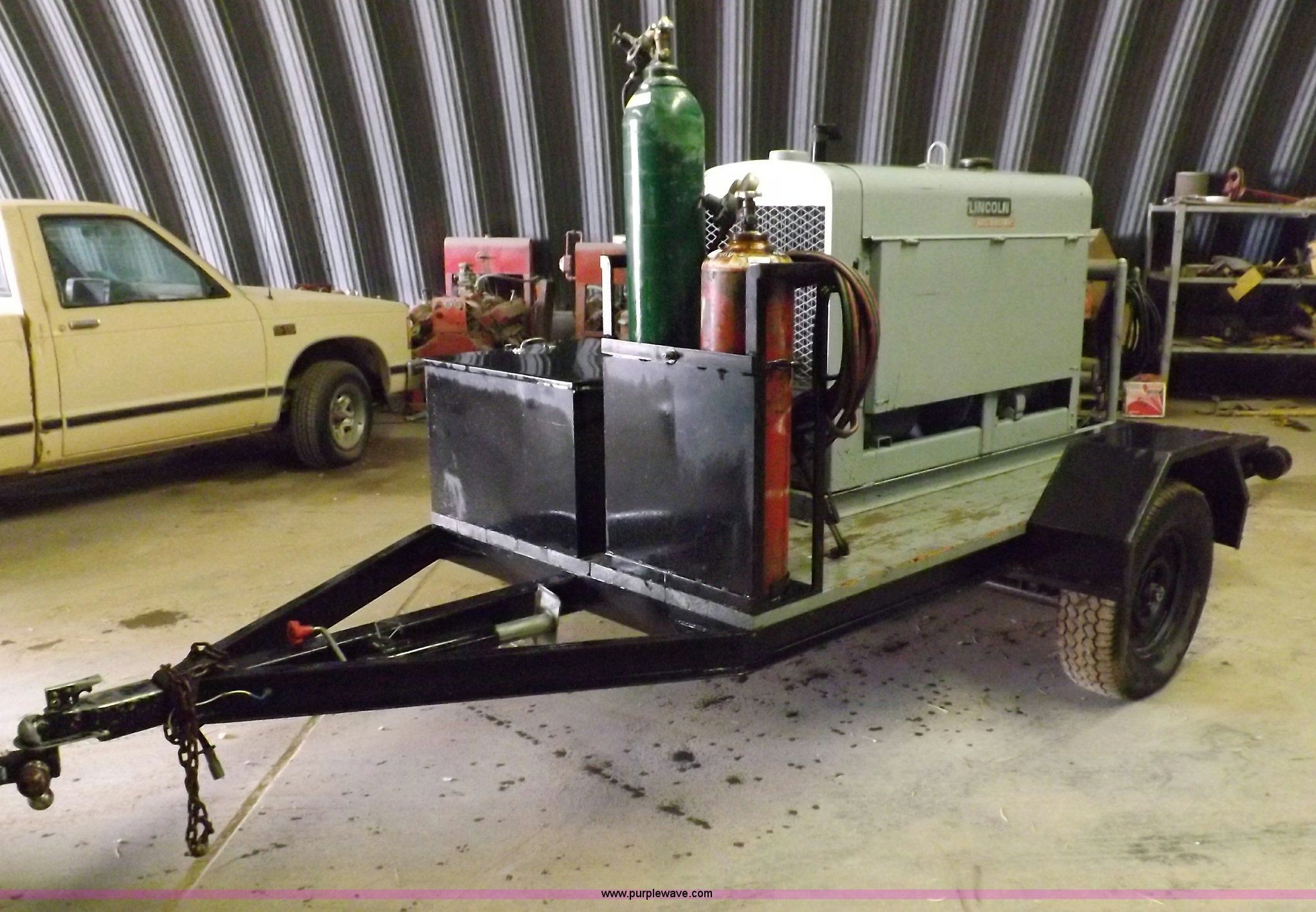 Lincoln Sa 200 Dc Arc Welder Item F6178 Sold Wednesday F163 Image For