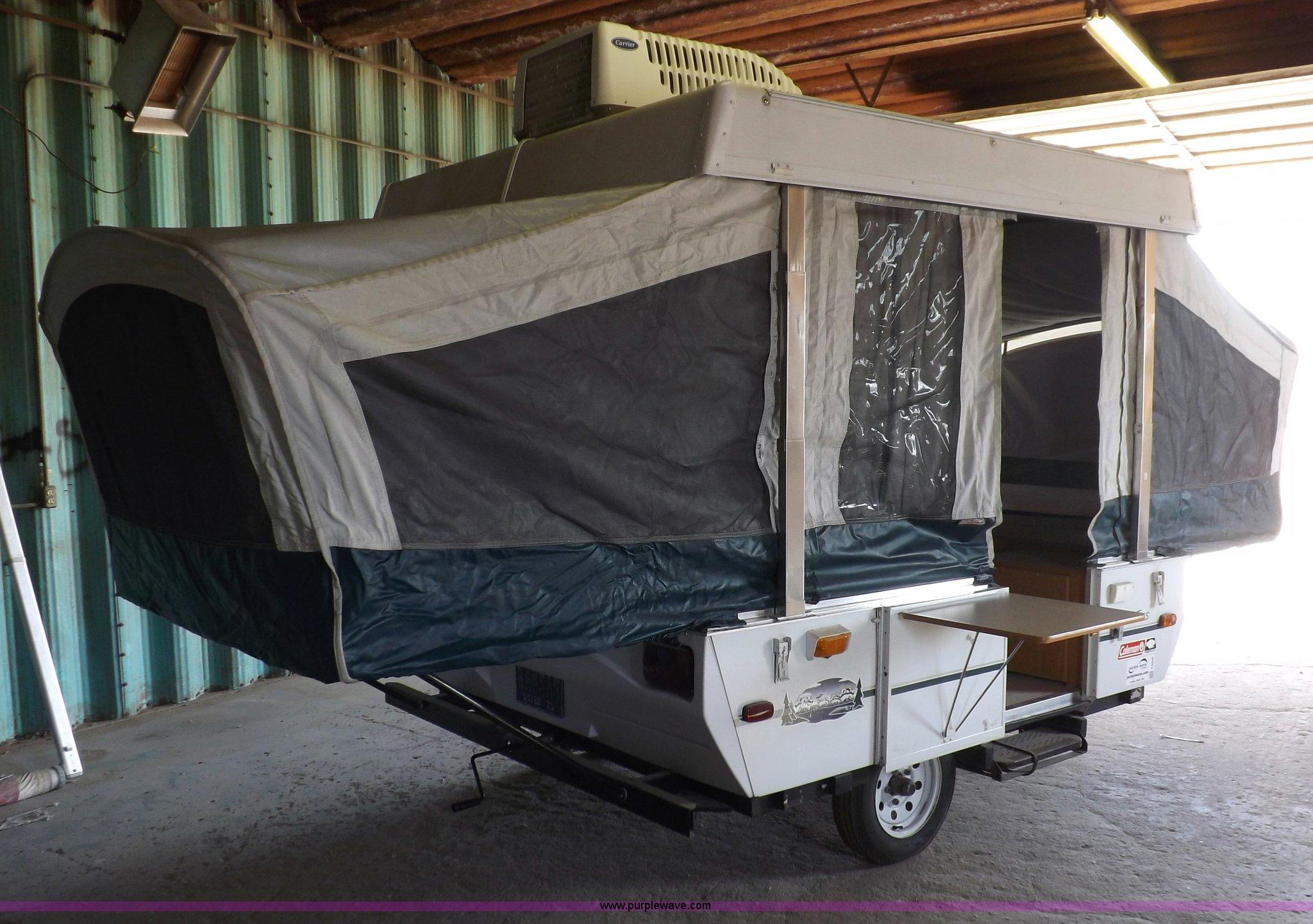 2001 Coleman Taos popup camper | Item F6200 | SOLD! Wednesda
