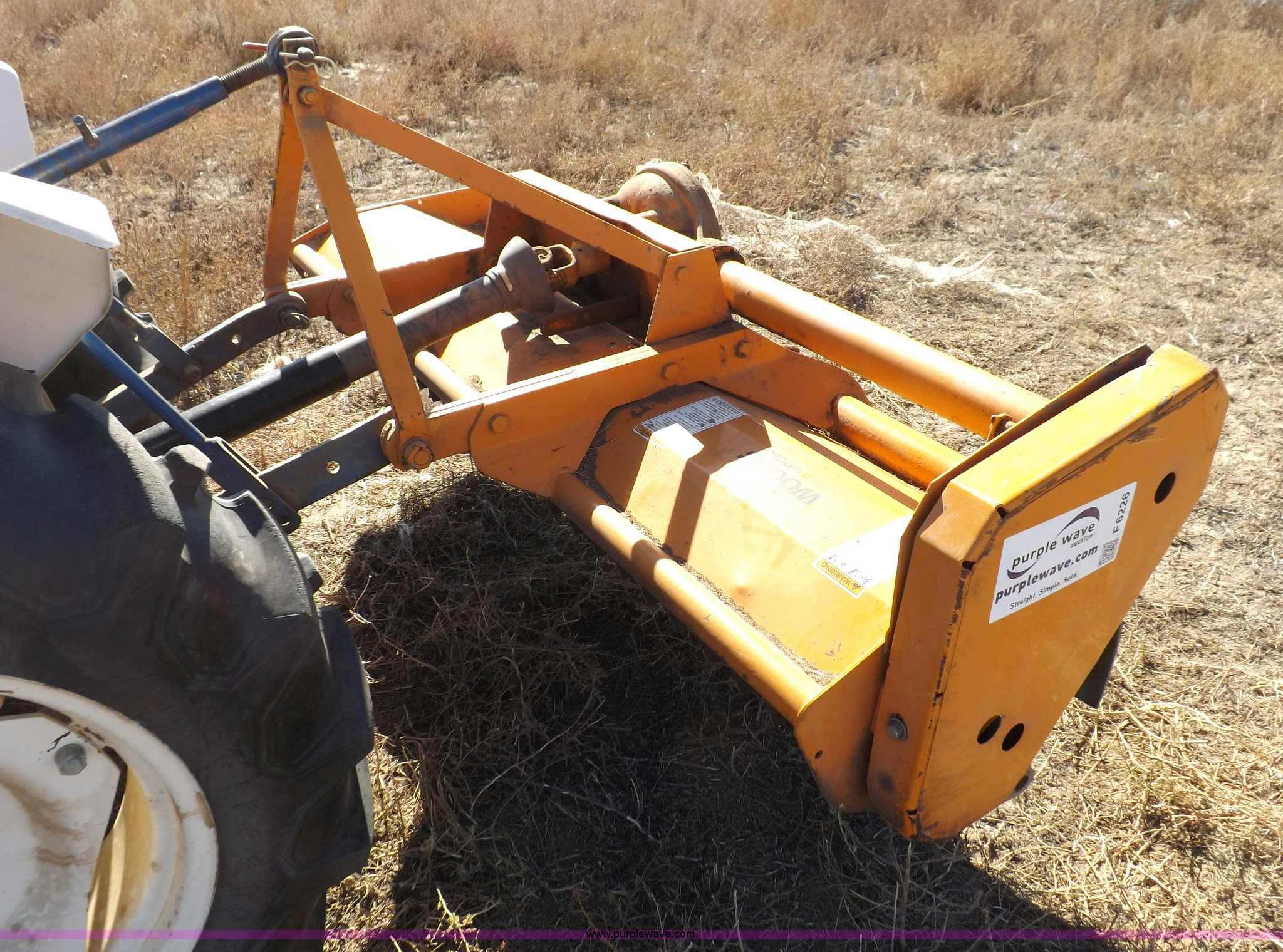 Woods 6' flail mower   Item F6226   SOLD! Wednesday December