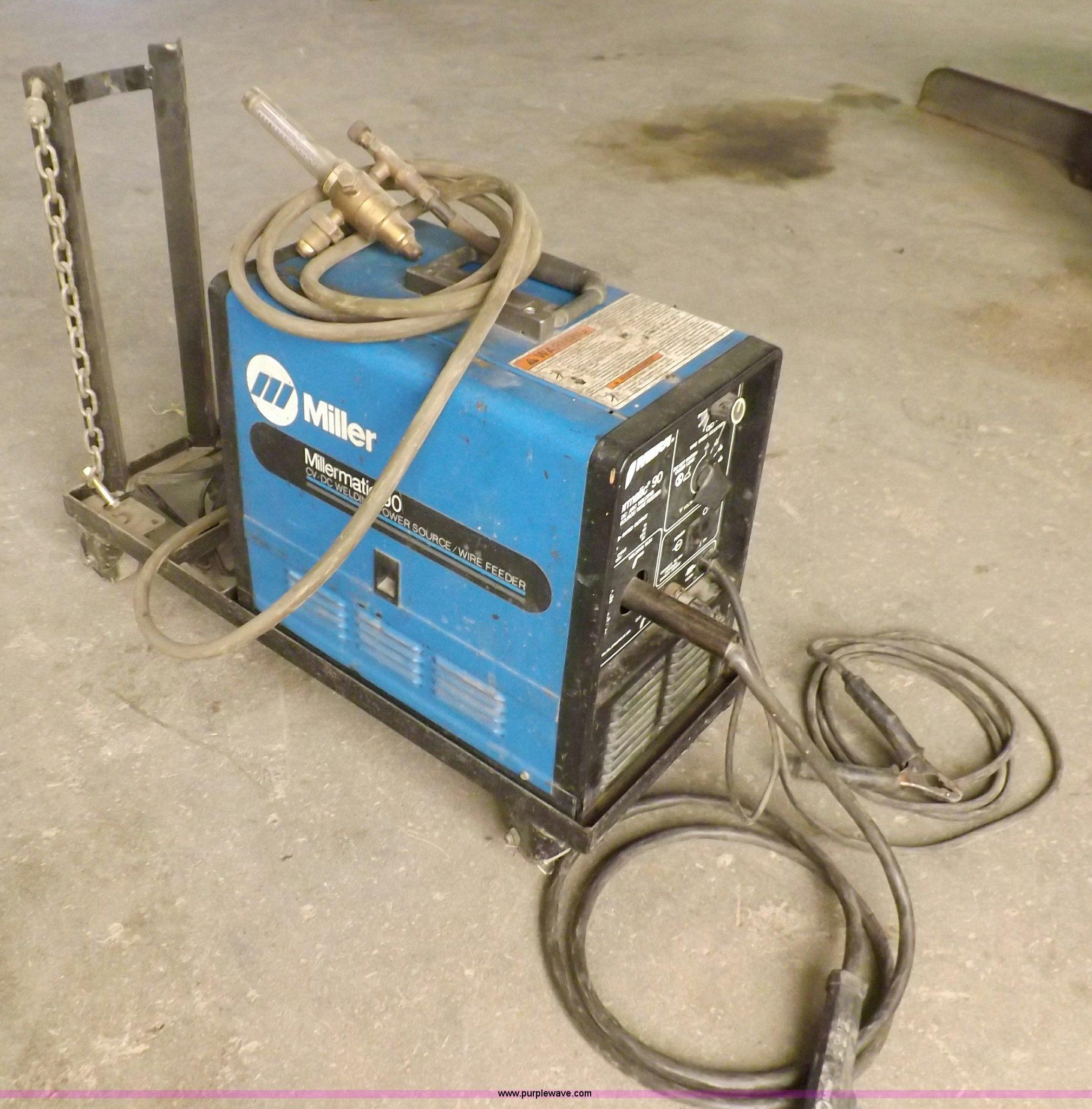 Miller Millermatic 90 CV-DC arc welding power source | Item ...