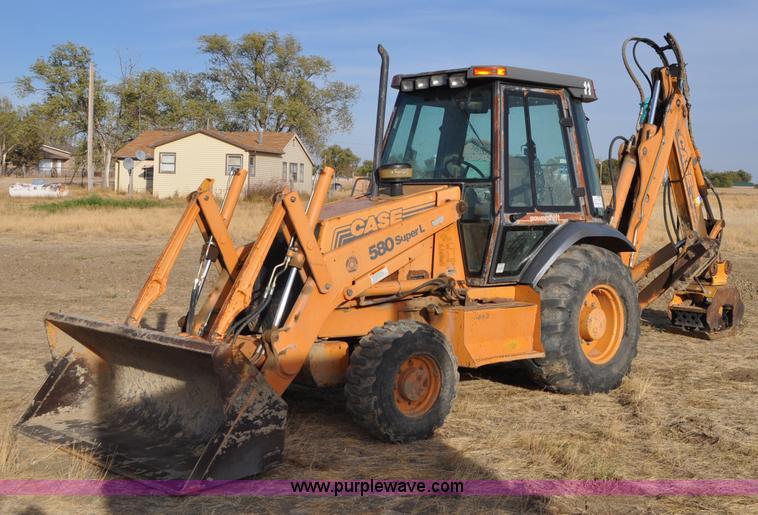 2000 Case 580 Super L Backhoe Item C3044 Sold