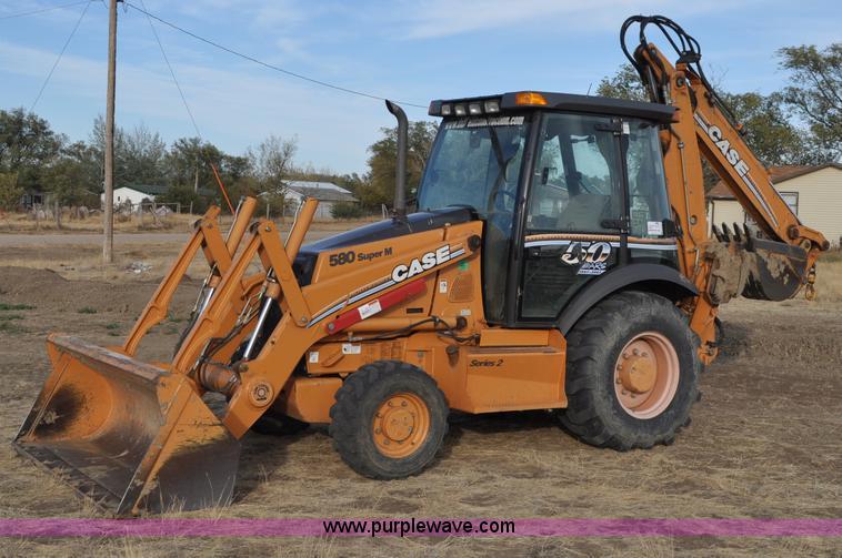 2009 Case 580 Super M II backhoe | Item C3045 | SOLD! Decemb