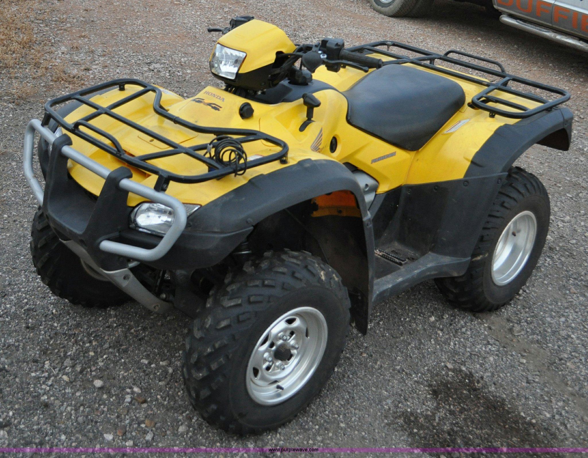 2005 Honda Rubicon ATV | Item C3234 | SOLD! December 6 Duffi