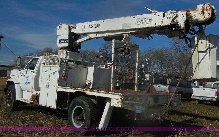 1983 chevrolet kodiak c70 pitman polecat flatbed truck ite rh purplewave com Pitman Crane Manufacturer pitman polecat service manual
