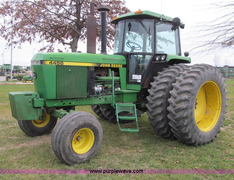 Tractor Lights 1990 : John deere row crop tractor item d sold