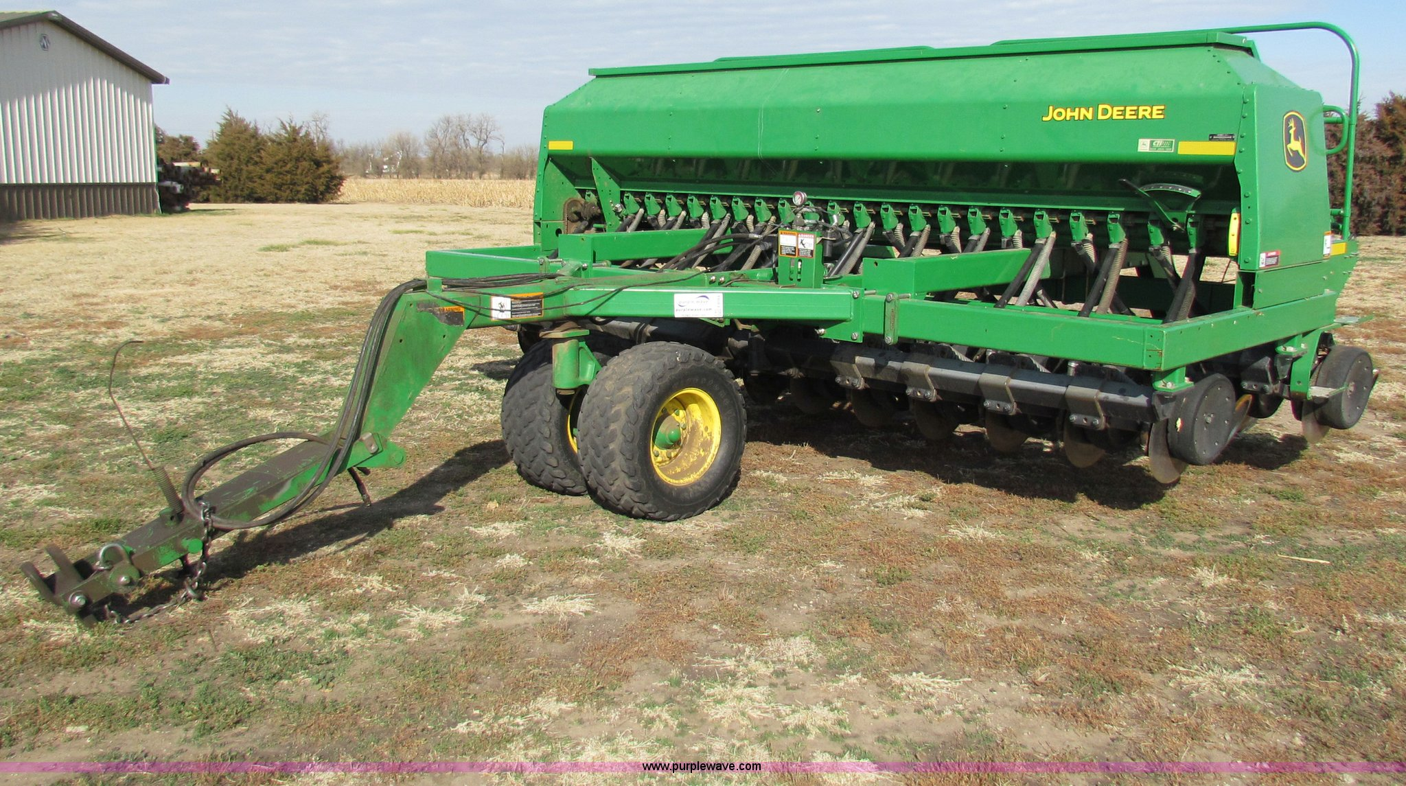 John Deere 1590 no-till grain drill | Item E8184 | SOLD! Dec